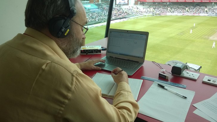 TMS statistician Andrew Samson
