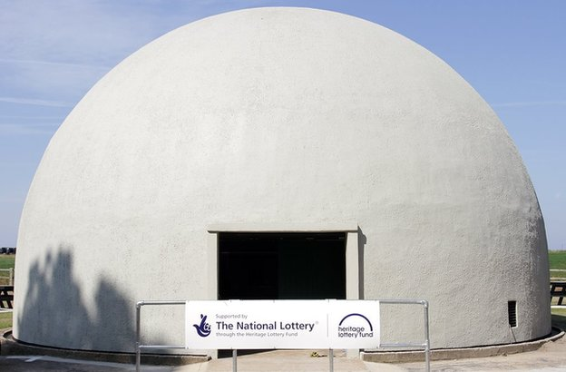 Restored Langham Dome