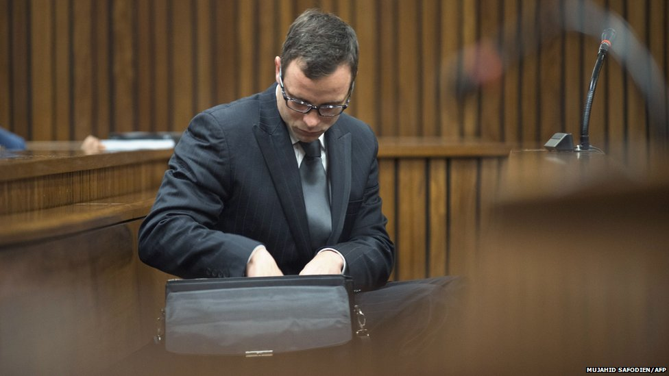 Oscar Pistorius in the high court in Pretoria