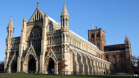 St Alban's catherdral