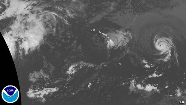 National Oceanic and Atmospheric Administration (NOAA) image taken on Friday