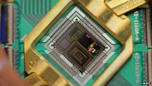 D-Wave quantum processor