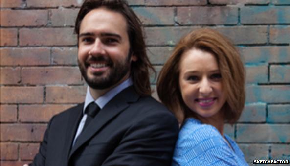 Daniel Herrington and Allison McGuire