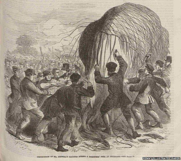 Balloon riot
