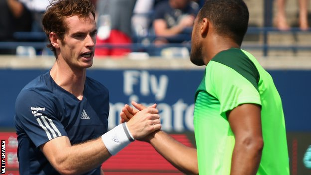 Andy Murray at the Rogers Cup
