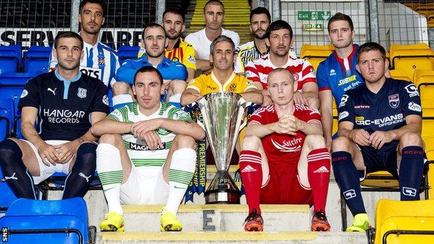 BBC Sport - Scottish Professional Football League season