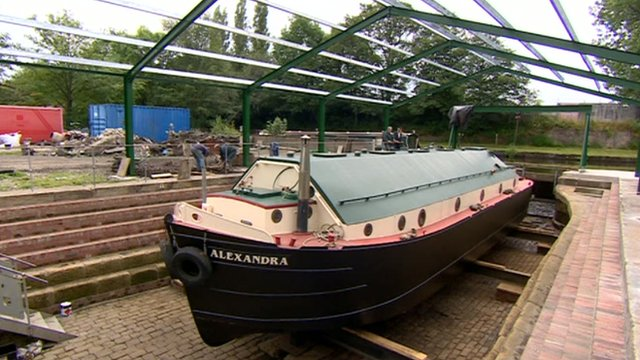 Narrow Foyer Yacht : Burnley s dry dock on liverpool and leeds canal restored