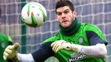 Fraser Forster of Celtic