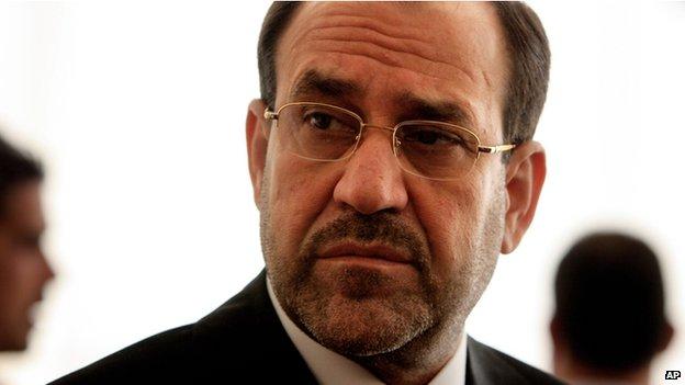 Iraqi Prime Minister Nouri al-Maliki