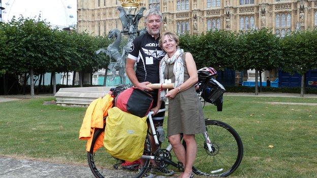 Steve Brown and Alison Brown