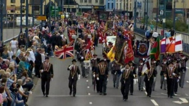 Up to 35,000 people attended the event organised by the Apprentice Boys of Derry