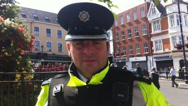 District Commander Stephen Cargin described Saturday's parade as exemplary