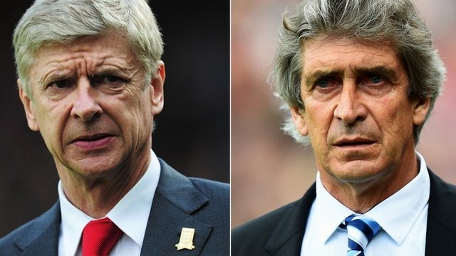 Arsene Wenger and Manuel Pellegrini