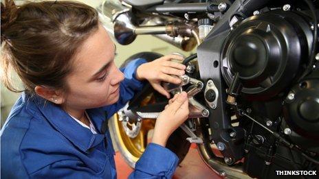 Apprentice mechanic