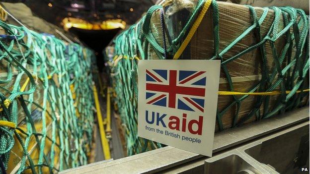 UK humanitarian aid (10 August 2014)