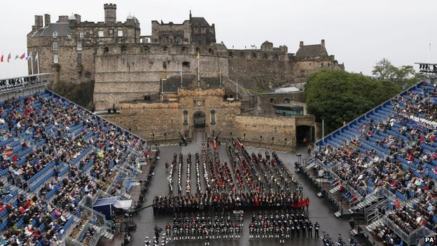 The Drumhead service in Edinburgh