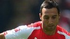 Arsenal's Santi Cazorla