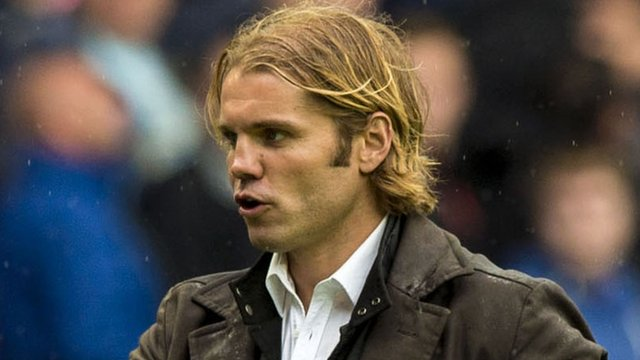 Interview - Hearts boss Robbie Neilson