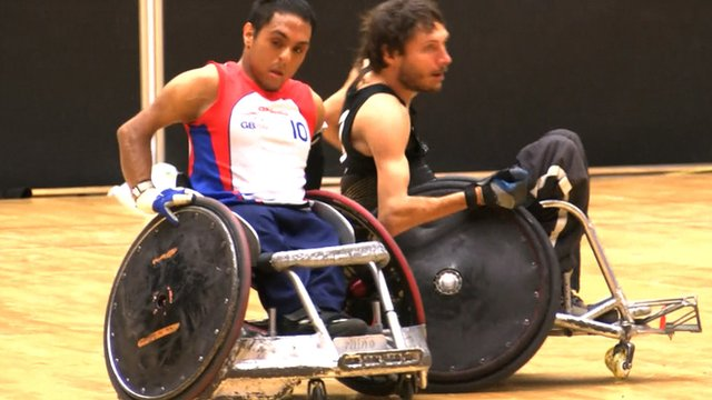 BBC Sport's Stuart Pollitt reports from Odense as Great Britain's wheelchair rugby team finish fifth at the World Championships.