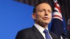 Australia boy 'holds severed head'
