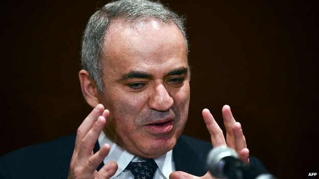 Garry Kasparov. April 2014