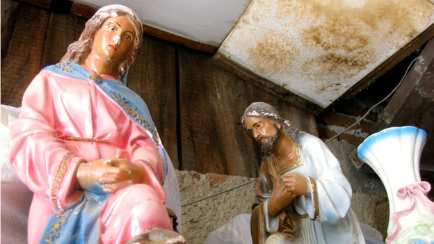 A nativity from the church of San Pedrito