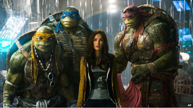 Teenage Mutant Ninja Turtles film still