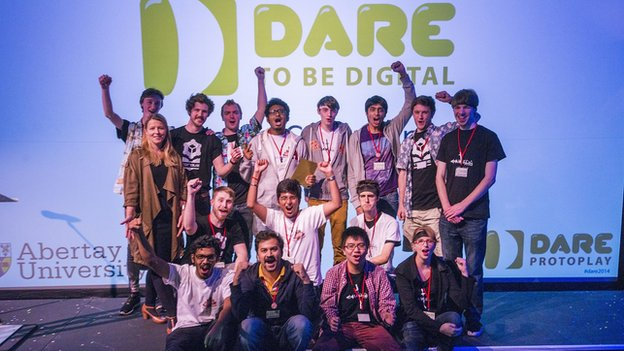 Dare winners