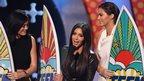 Kyli Jenner, Kim Kardashian and Kendall Jenner