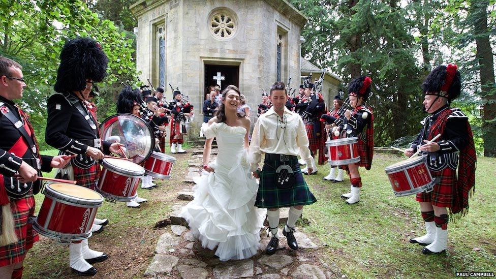 Wedding at Belladrum