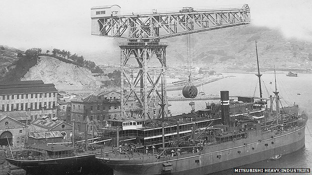 The Crane was built and erected by the Motherwell Bridge Company in 1909