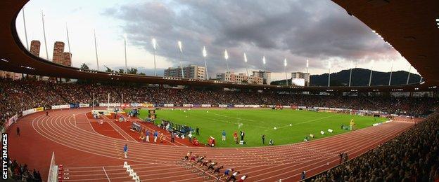 Letzigrund Stadium, Zurich