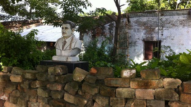 Orwell's bungalow