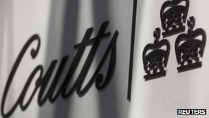Coutts sign