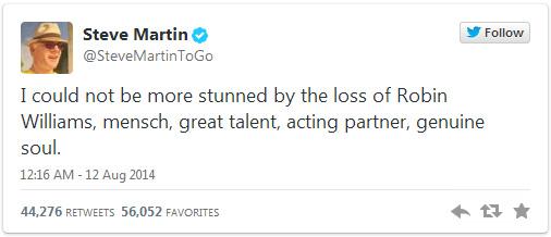 Steve Martin tribute