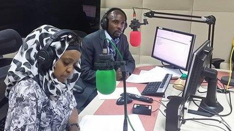 Zuhura Yunus and Barwan Muhuza