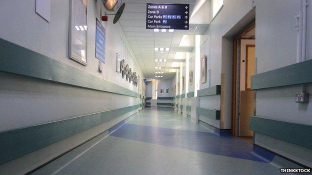 NHS corridor