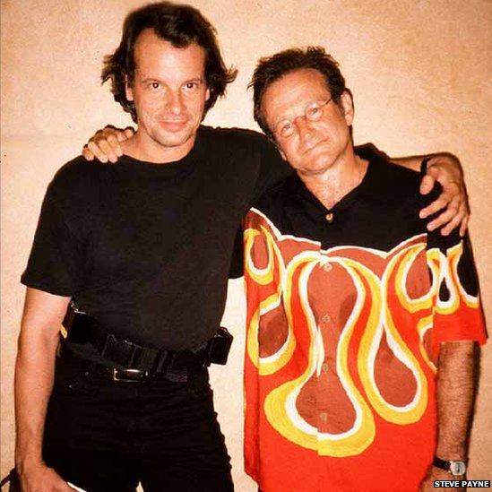 Steve Payne  and Robin Williams
