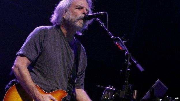 Guitarist Bob Weir
