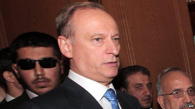Nikolai Patrushev, file pic