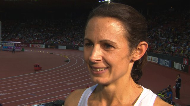 European 10,000m champion Jo Pavey