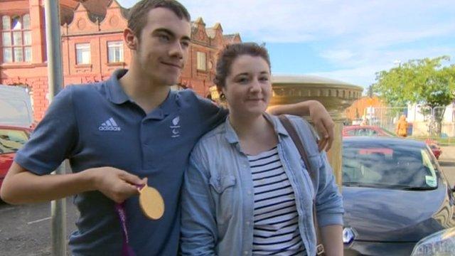 Paralympian Josef Craig
