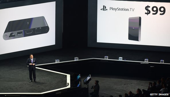 Sony launch PlayStationTV