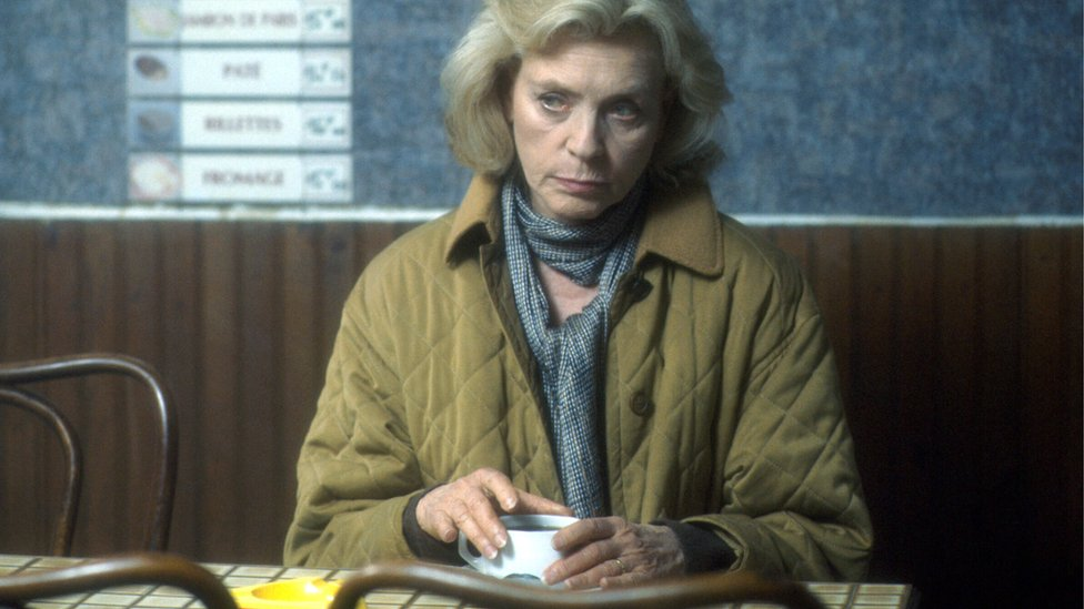 Lauren Bacall in the BBC's 1993 production A Foreign Field