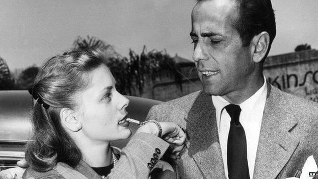 Bacall & Bogart, 25 May 1945