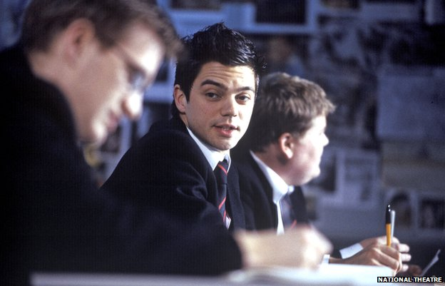 Dominic Cooper and James Corden in the History Boys