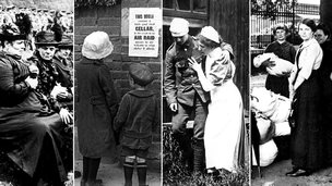 Images of World War One's mental impact