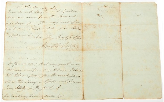 Lord Nelson's letter