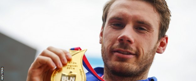 British swimmer Daniel Fogg