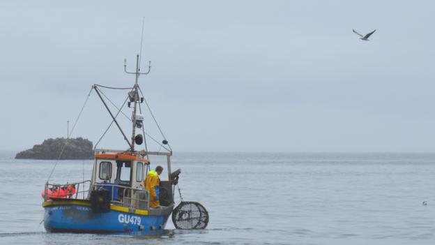 Guernsey fishing boat